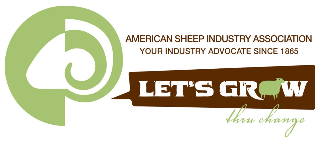 American Sheep Industry Association Let's Grow combined logo